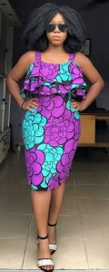 short sleeve ankara gown for teen girls - youtube