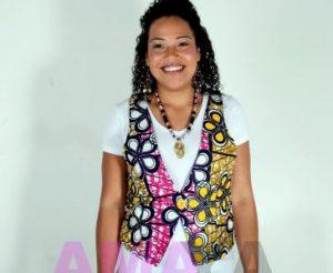 simple but cute ankara waistcoat for ladies - ankaraclothings moonfruit
