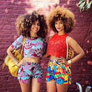 slay queens ankara shorts with crop tops for birthday studio pics - naturalistalife tumblr