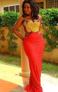 sleeveless ankara gown african style - itsafricaninspired tumblr