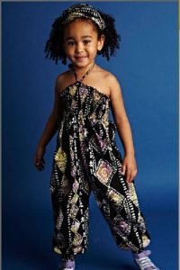 sleeveless ankara jumpsuit for little girls - flickr