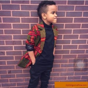 stylish ankara coat for kid boys - blog stylishgwinafrica