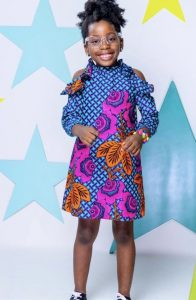 stylish ankara gown for kids - pinterest