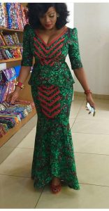 sweet moms ankara long skirt and blouse style - hairdesign blogares