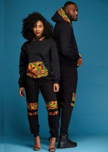 track suit ankara and jean styles for young couples - diyanu