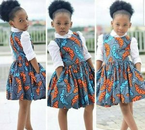 triplet girl kids ankara pinafore style - etsy