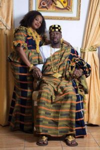 wedding anniversaries can also be celebrated with royal kente style - pinterest