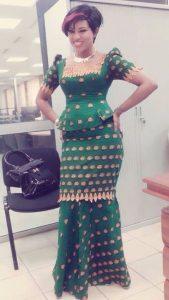 wedding or church service ankara skirt and blouse idea - momoafrica