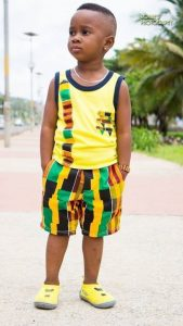 young nigga ankara singlet style with short - thefashionparlour