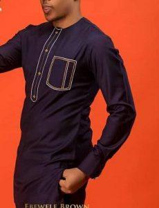 african grooms simple ankara kaftan suit - etsy