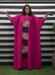 asake oge launched this ankara kaftan style for bossy ladies - bellanaija