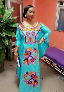 gorgeous ankara kaftan dress with adorable embroidery - pinterest