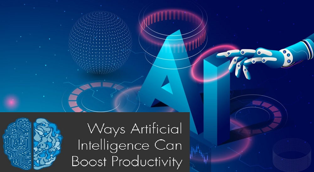 how artificial intelligence can improve productivity in different business industries and fields