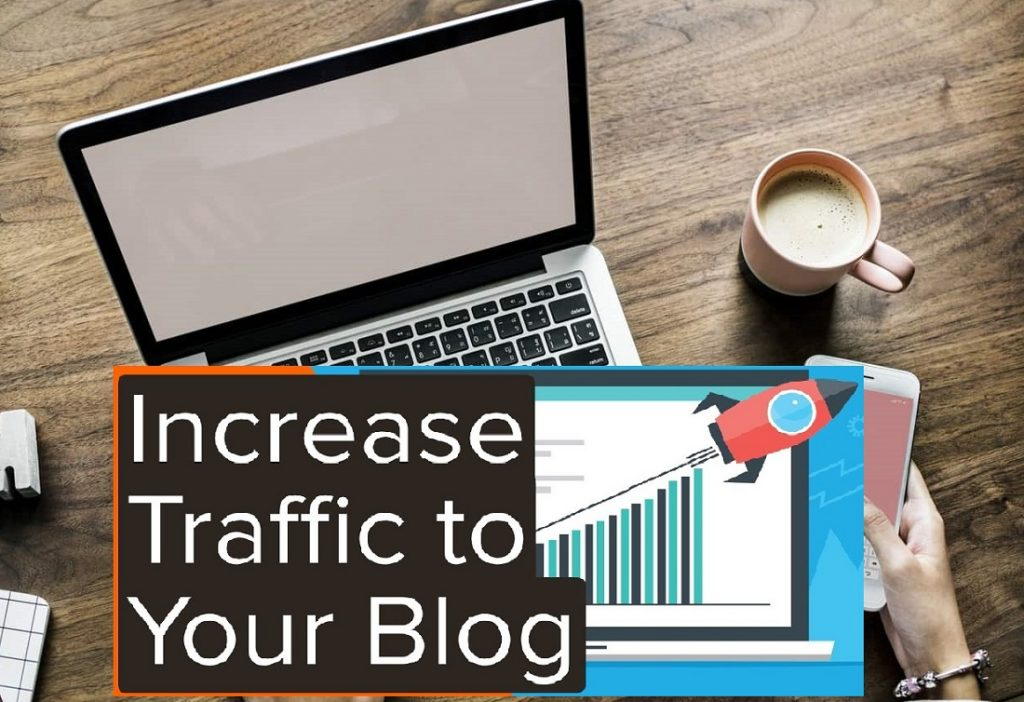 how to increase blog traffic for free from social media, quora and reddit