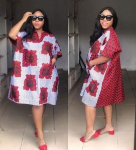 short ankara kaftan style for pregnant ladies - pinterest
