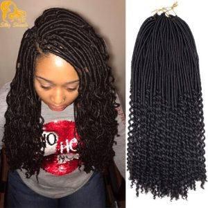 time consuming loc style but cute - africanamericanhairstylevideos