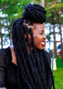 twists hairstyle that looks like a load but adorable - tukesquest