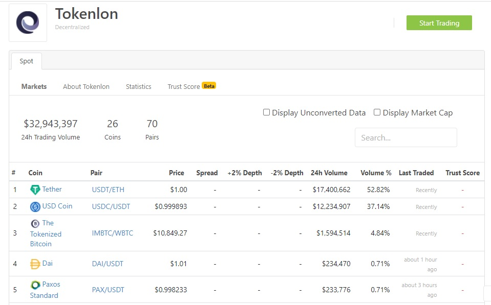 tokenlon decentralized exchange protocol review