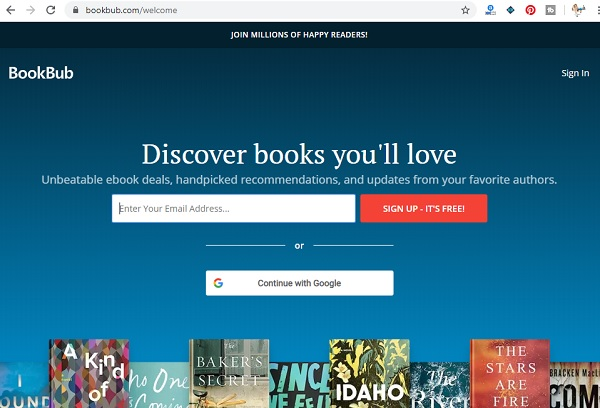 bookbub book promotion guide
