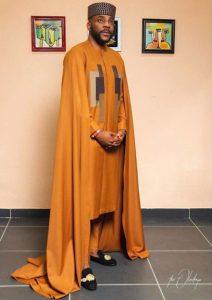 unique ankara senator style for guys, inspired by Ebuka Obi-Uchendu