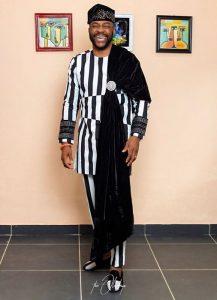 complex but cute ankara senator style from Ebuka Obi-Uchendu's fashion collection