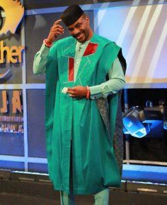 gorgeous ankara native agbada style for young men, Ebuka's fashion style