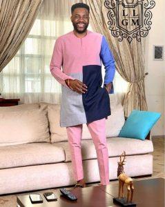 men's ankara senator style for wedding and church