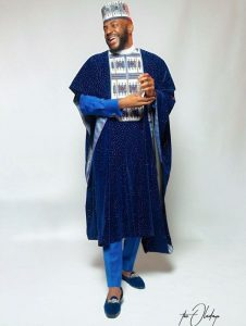 Classy guys ankara agbada style for special occasions, inspired by Ebuka