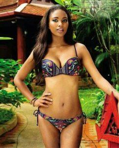 strappy bralette ankara bikini for young ladies