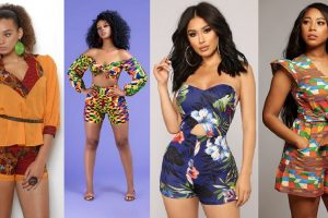 latest ankara short knickers and top styles for young ladies