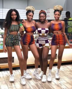choose one of these ankara short knickers with crop tops you love most