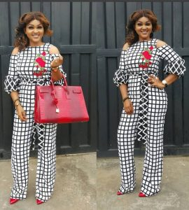 stylish ankara palazzo jumpsuit style for classy ladies