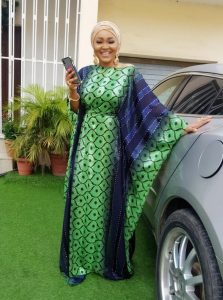 long ankara boubou gown style for young ladies