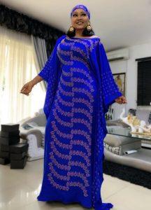 ankara boubou long gown style