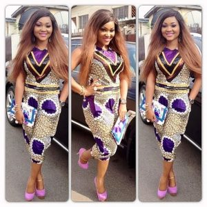 another cute ankara style for casual outing