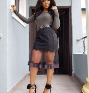 hot ankara short skirt with long sleeve blouse