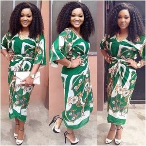 simple ankara blouse and wrapper styles for young ladies