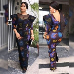 special ankara gown for busty young ladies