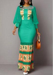 latest ankara long gown for tall, slim, curvy ladies