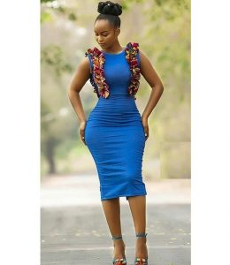 ankara gown style for tall, slim, curvy young ladies