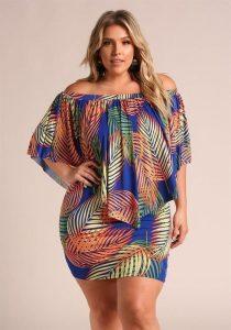latest short ankara gown for chubby, curvy ladies