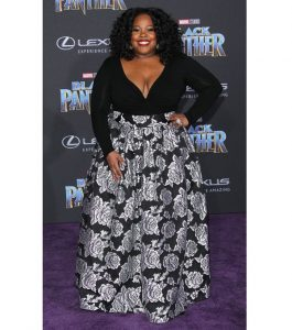 long sleeve top with ankara long maxi gown for busty, plus size ladies