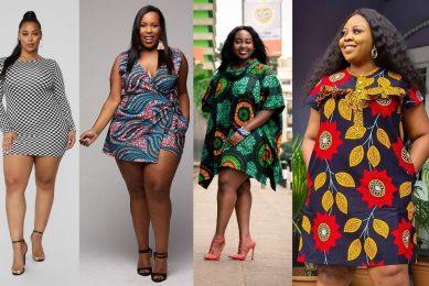 plus size curvy ladies ankara styles
