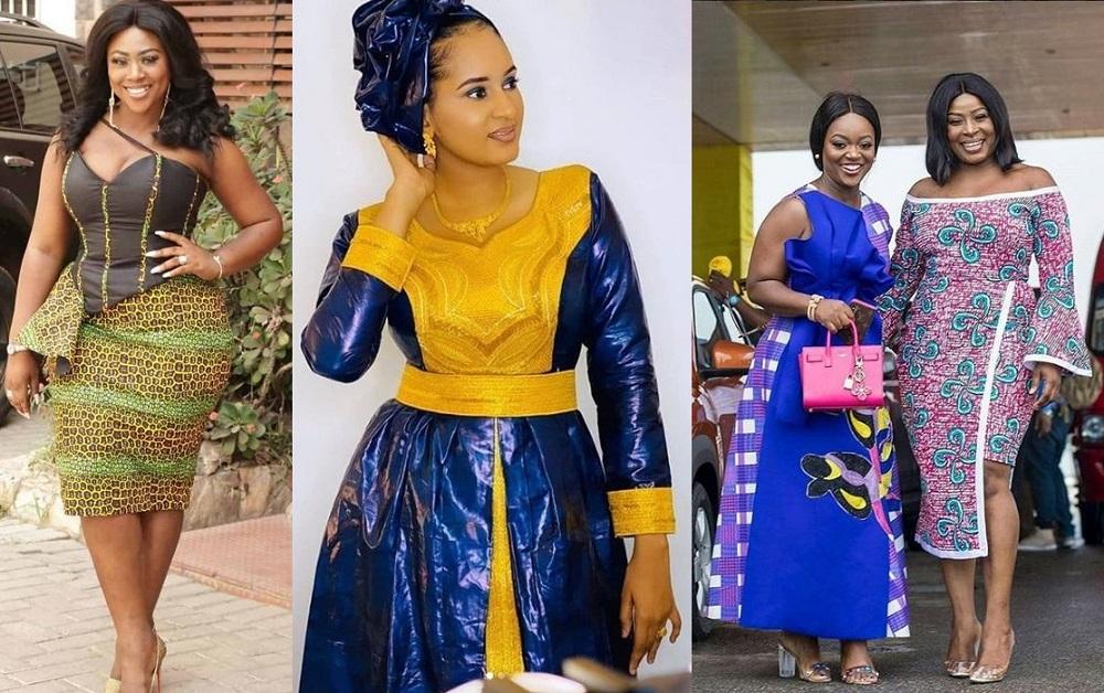 african print ankara styles for female celebrities