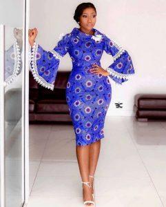 cute ankara short gown for pretty ladies