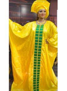 ankara boubou church dress style