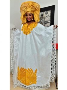 church ankara boubou gown style for young moms