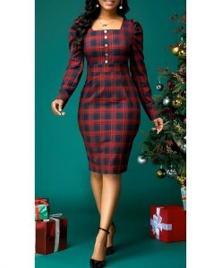 short ankara gown style for church and office work