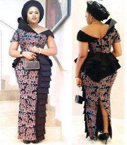 latest ankara long skirt and blouse styles for wedding