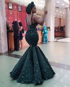 ankara lace mermaid skirt and blouse for beauty queens